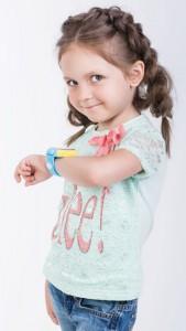 фото Детские умные часы Motto с GPS трекером S-02 Pink #2
