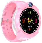 Детские умные часы Motto с GPS трекером S-02 Pink