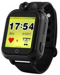 Детские умные часы Motto с GPS трекером TD-07 (Q20) Black