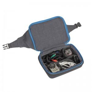 фото Сумка (чехол) для экшн-камеры RivaCase 7513 Action camera Canvas case grey #4