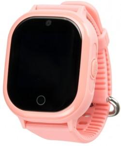 фото Детские умные водонепроницаемые часы Motto с GPS трекером Smart Baby Watch TD-05 Pink #3