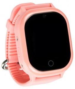 фото Детские умные водонепроницаемые часы Motto с GPS трекером Smart Baby Watch TD-05 Pink #2