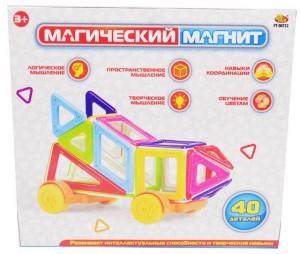 Конструктор 'Магический магнит' 40 деталей (РТ-00752)
