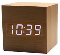 Подарок Часы цифровые светодиодные 'Куб'
