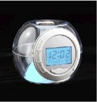 Подарок Часы с подсветкой 'Changing Light Alarm Clock'