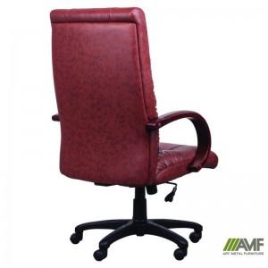 фото Кресло Art Metal Furniture 'Консул НВ' 622-B High-Back Brown PU+PVC, HL018 Mech, кожзам коричневый (031134) #5