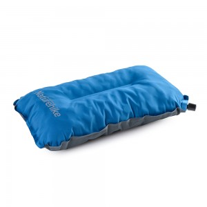 Самонадувающаяся подушка NatureHike 'Sponge automatic Inflatable Pillow' blue (NH17A001-L)
