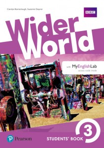 Книга Wider World 3 Students' Book with MyEnglishLab Pack