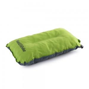 Самонадувающаяся подушка NatureHike 'Sponge automatic Inflatable Pillow' green (NH17A001-L)