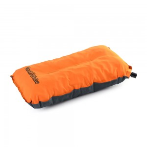 Самонадувающаяся подушка NatureHike 'Sponge automatic Inflatable Pillow' orange (NH17A001-L)