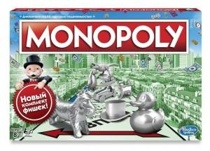 Настільна гра Hasbro 'Класична Монополія. Оновлена 'українська версія (C1009657)