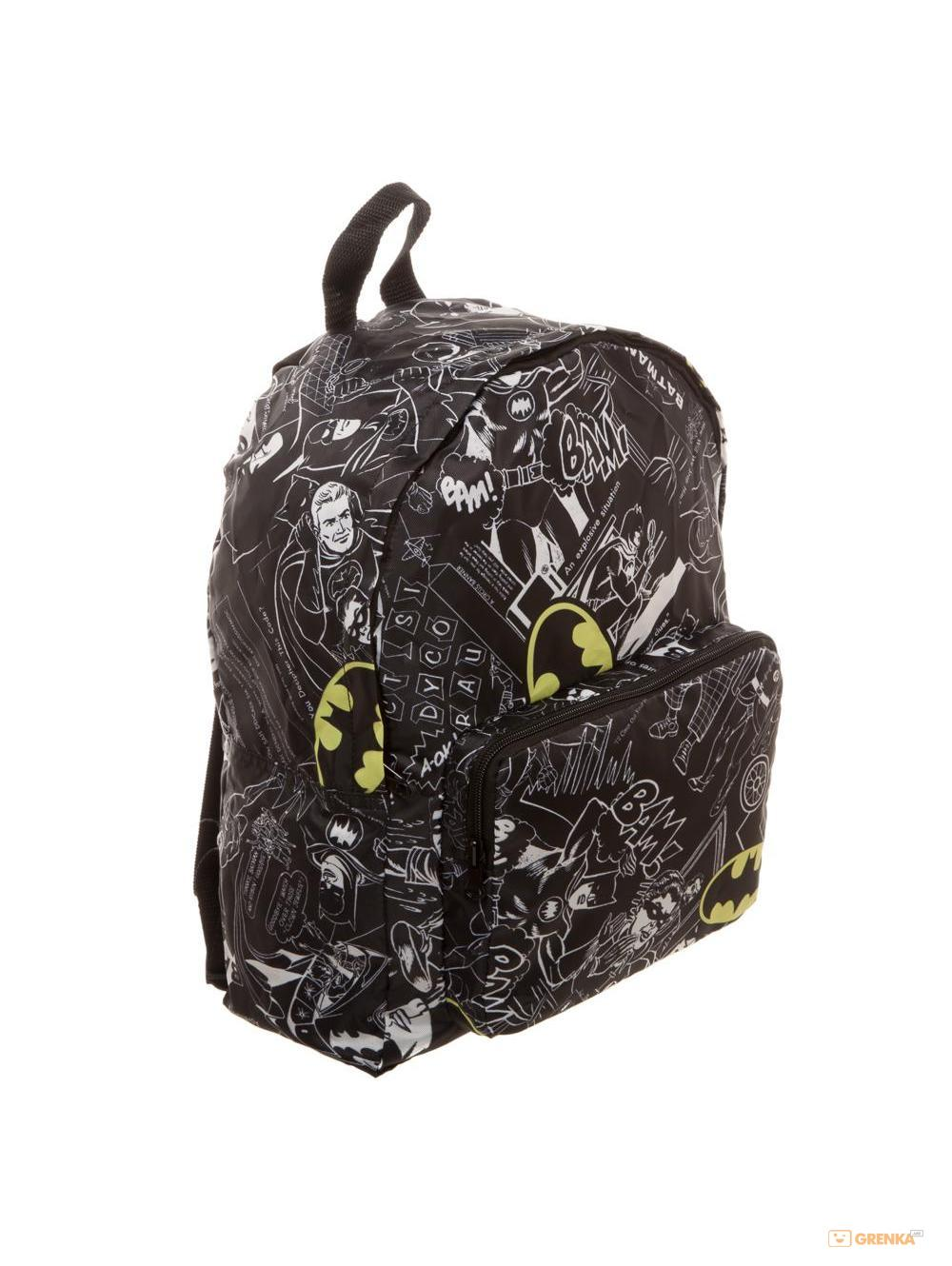 Купить Рюкзак Bioworld 'Backpack Batman Logo Print All Over' (BP562XBTM)