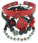 Подарок Набор браслетов Bioworld 'DCO-Dc Comics Harley Quinn Arm Party'(BV3LBNDCO)