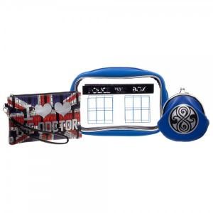 Подарок Набор косметичек Bioworld 'Doctor Who Bag' (XB4D1DDRW)