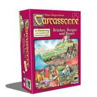 Настольная игра Carcassonne Замки, мосты и базары (Bridges, Castles and Bazaars ) расширение