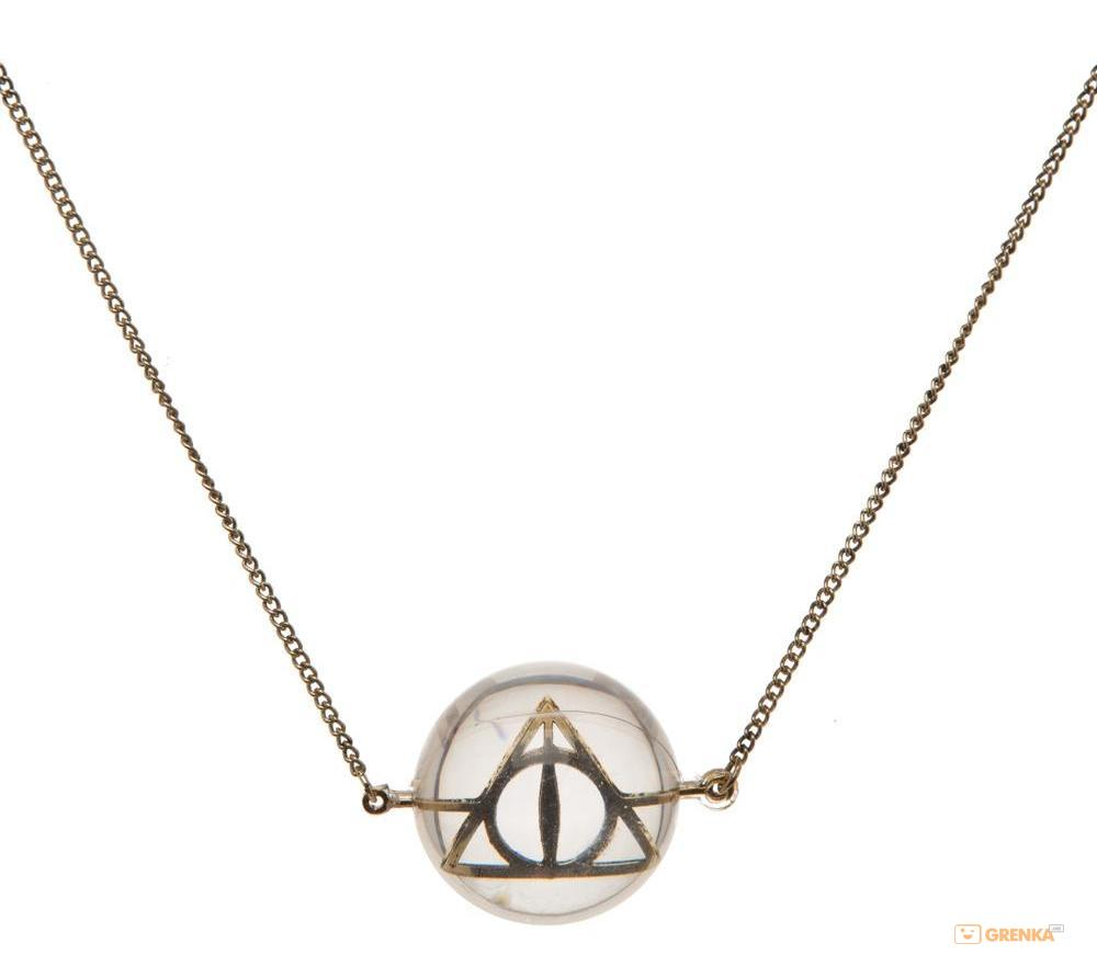 Купить Ожерелье Bioworld 'Harry Potter - deathly hallows acrylic bubble necklace' (NK4QL5HPT)