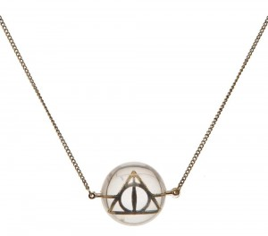 Подарок Ожерелье Bioworld 'Harry Potter - deathly hallows acrylic bubble necklace' (NK4QL5HPT)