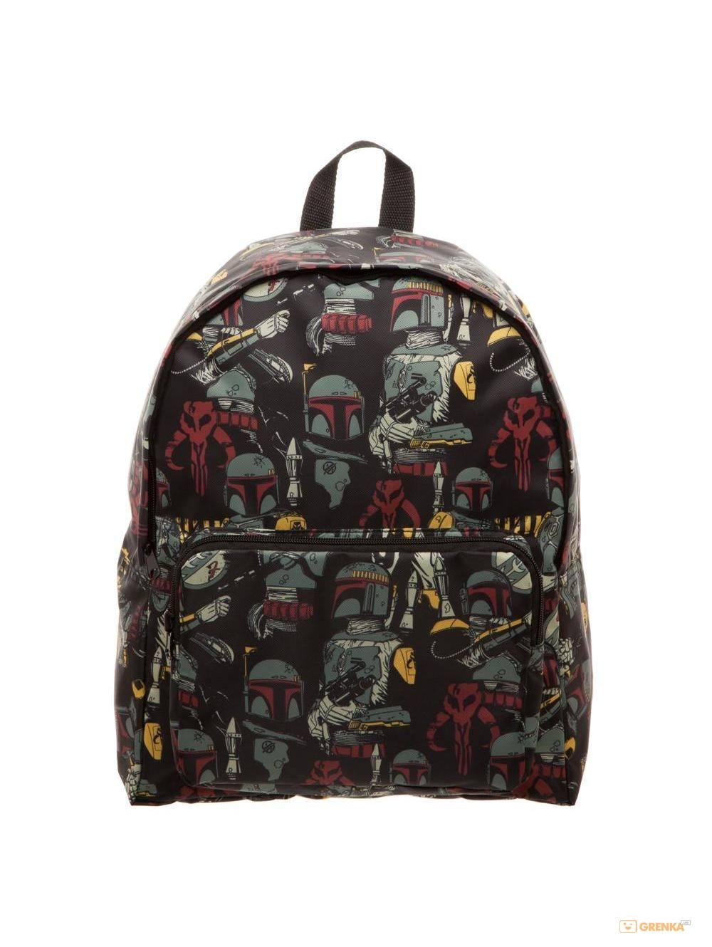 Рюкзак Bioworld 'Star Wars Backpack Boba Fett All Over Print' (BP3E7QSTW)  - купить со скидкой