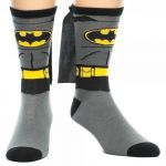 Подарок Носки Bioworld 'Crew Sock DC Comics Batman Suit Up w/ Cape' (CR0JA4BTM)