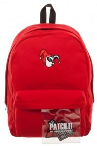 Рюкзак Bioworld 'Batman - Harley Quinn Canvas Backpack - Red' (BP5DTFDCO)
