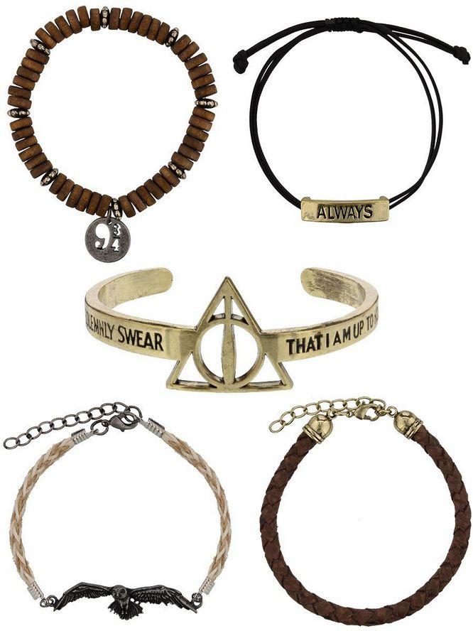 Купить Набор браслетов Bioworld 'HPT - Harry Potter bracelet set' (BV3KPLHPT)
