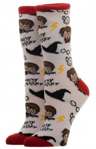 Подарок Носки Bioworld 'HPT - Harry Potter - chibi crew sock' (CR4D46HPT)