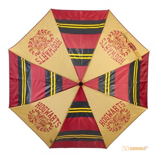 Купить Зонтик Bioworld 'Compact Hogwarts Collegiate stripes panel umbrella' (UM5B23HPT)