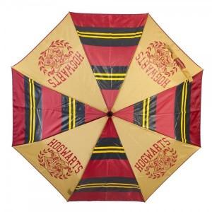 Зонтик Bioworld 'Compact Hogwarts Collegiate stripes panel umbrella'  (UM5B23HPT)