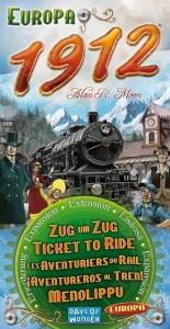 Настольная игра Ticket to Ride Europe 1912 Expansion (7211) дополнение
