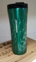 Подарок Термокружка Starbucks 3D, бирюзовая, 500 мл