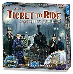 Настольная игра Ticket to Ride: United Kingdom Map Collection (720123) дополнение
