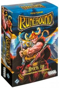 Настольная игра Hobby World 'Runebound. Третья редакция. Дополнительный сценарий 'Ярость гор' (1755)