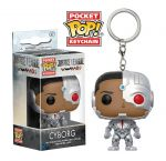 фигурка Фигурка Funko Pocket POP! Keychain 'DC: Justice League - Cyborg' (13793)