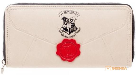 Купить Кошелек Bioworld 'Harry Potter Hogwarts Letter Zip Around Wallet' (GW4CWCHPT)