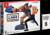 Інтерактивний картонний конструктор Nintendo Labo Toy-Con 02 Robot Kit