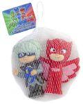 фигурка Игровой набор для ванны PJ Masks 'Герои в масках - Алетт и Лунная девочка' (119938)