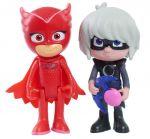 фигурка Игровой набор PJ Masks 'Герои в масках - Аллет и Лунная девочка (свет)' (24812)