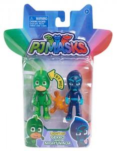 фото Игровой набор PJ Masks 'Герои в масках - Гекко и Ночной ниндзя (свет)' (24813) #2