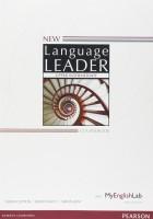 Книга New Language Leader Upper Intermediate Coursebook with MyEnglishLab Pack