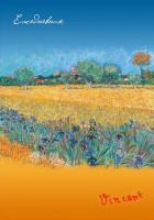 Книга Ежедневник 'Ван Гог. Пшеничное поле'