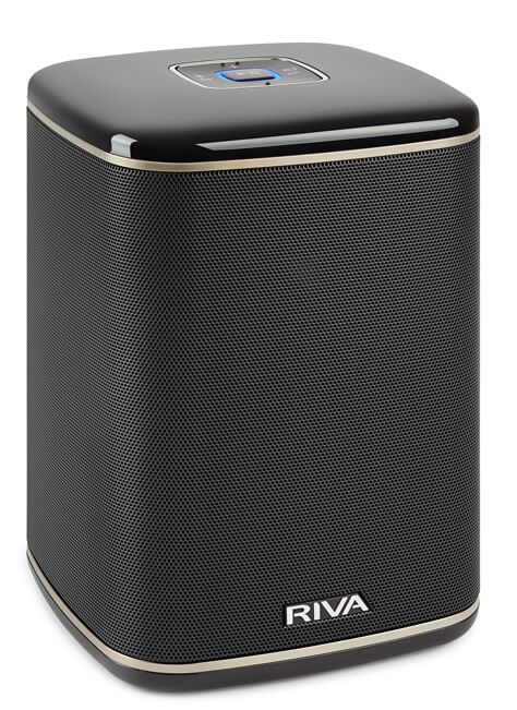 Купить Мультирум акустика RIVA Arena Compact Multi-Room+ Wireless Speaker Black (RIVAARB)