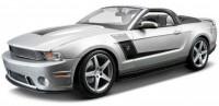 Автомодель Maisto 2010 Roush 427 Ford Mustang Convertible 1:18 (серебристый) (31669)