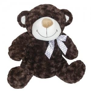 Мягкая игрушка Grand Медведь коричневый с бантом 25 см (2502GMU)