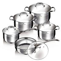 Набор посуды Blaumann 'Gourmet Line' 10 предметов (BL-3163)
