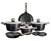 Набор посуды Berlinger Haus 'Ebony Maple Line' 10 предметов (BH-1533)