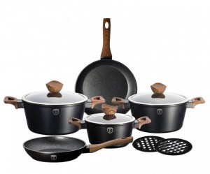 Набор посуды Berlinger Haus 'Ebony Maple Line' 10 предметов (BH-1534)
