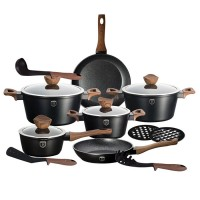 Набор посуды Berlinger Haus 'Ebony Maple Line' 15 предметов (BH-1537)