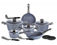 Набор посуды Berlinger Haus 'Forest Dark Gray' 15 предметов (BH-1578)