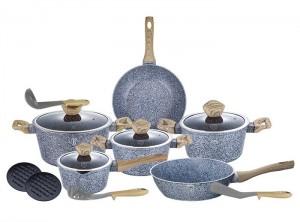 Набор посуды Berlinger Haus 'Forest Light Brown' 15 предметов (BH-1566)
