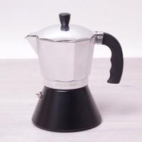 Кофеварка гейзерная Kamille с широким индукционным дном 300 мл (KM2510)